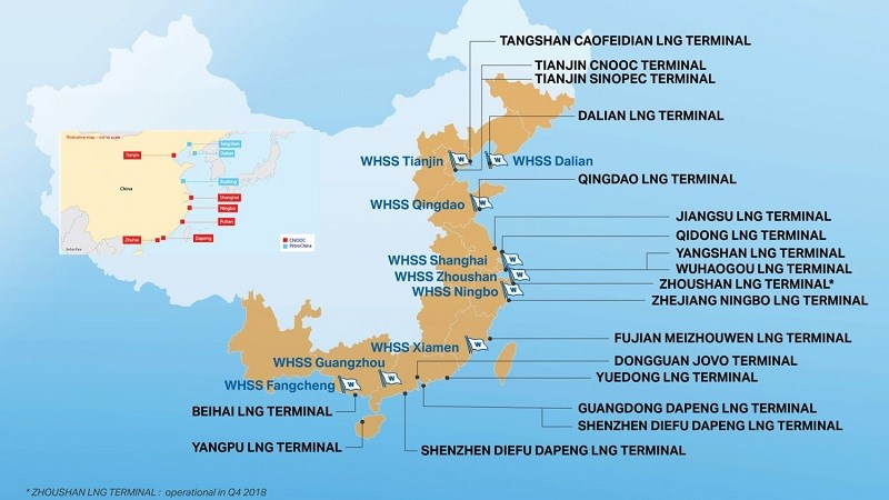 800 x 450 China LNG Terminals