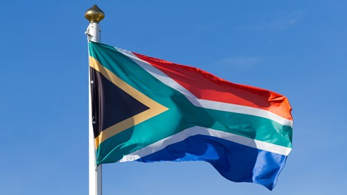 1600 x 900 South Africa flag