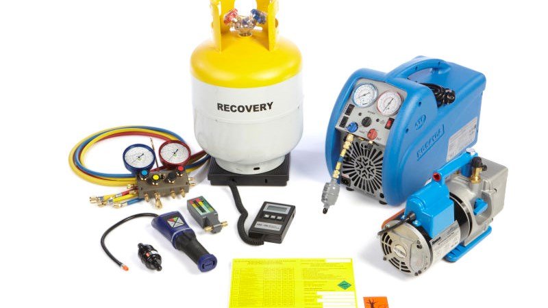 Refrigerant recovery package