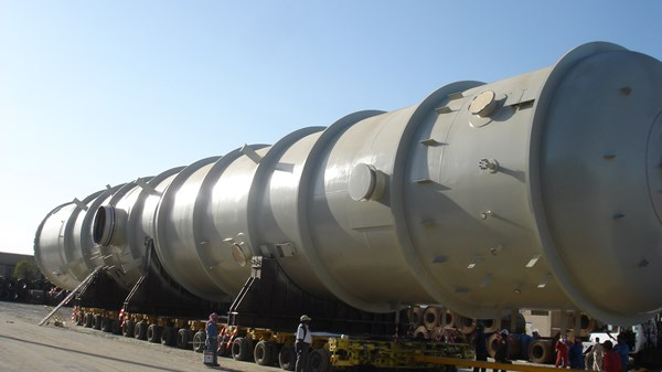 2592 X 1944 Transport of pressure vessel kuwait