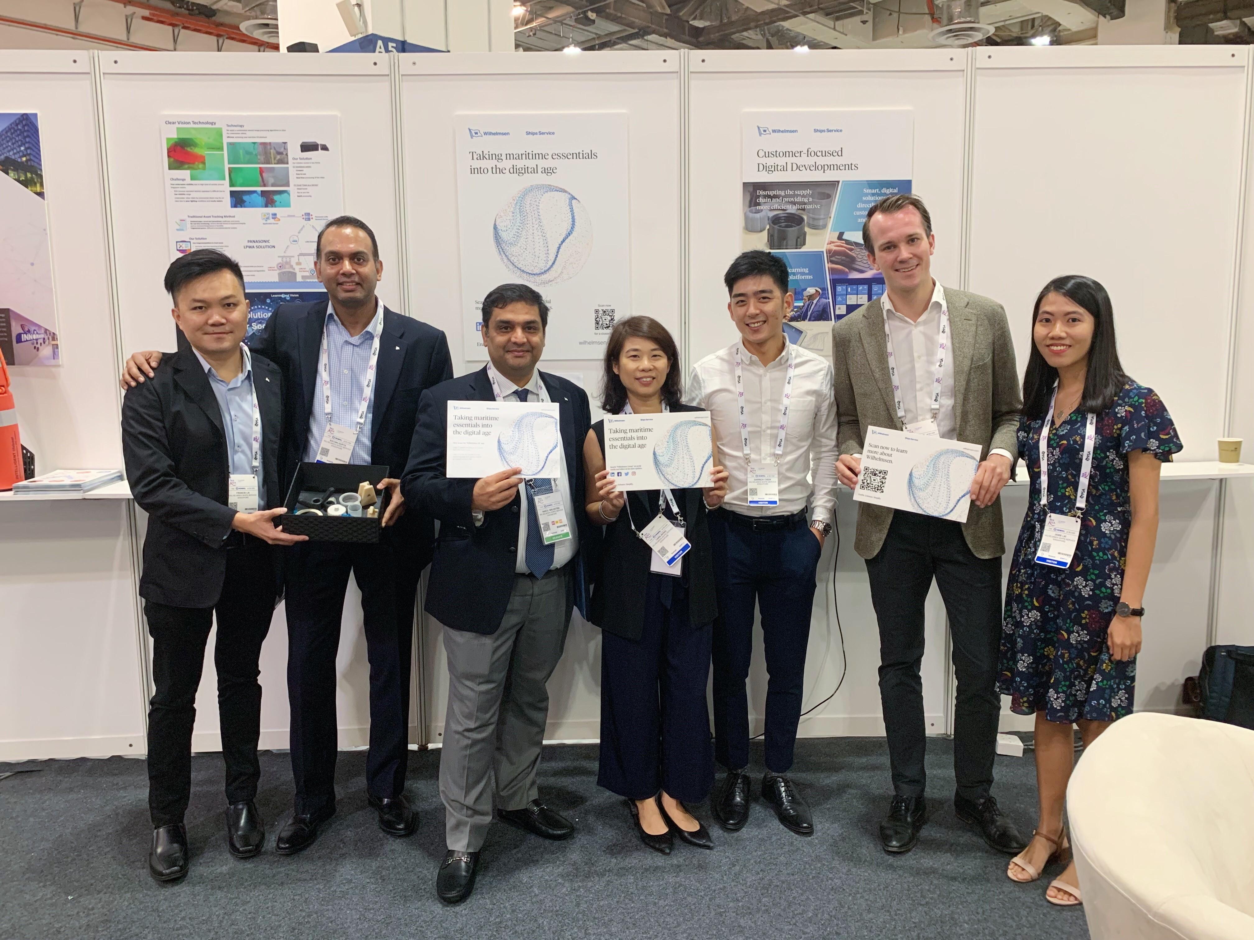 Spotlighting digital initiatives at Singapore Maritime Week