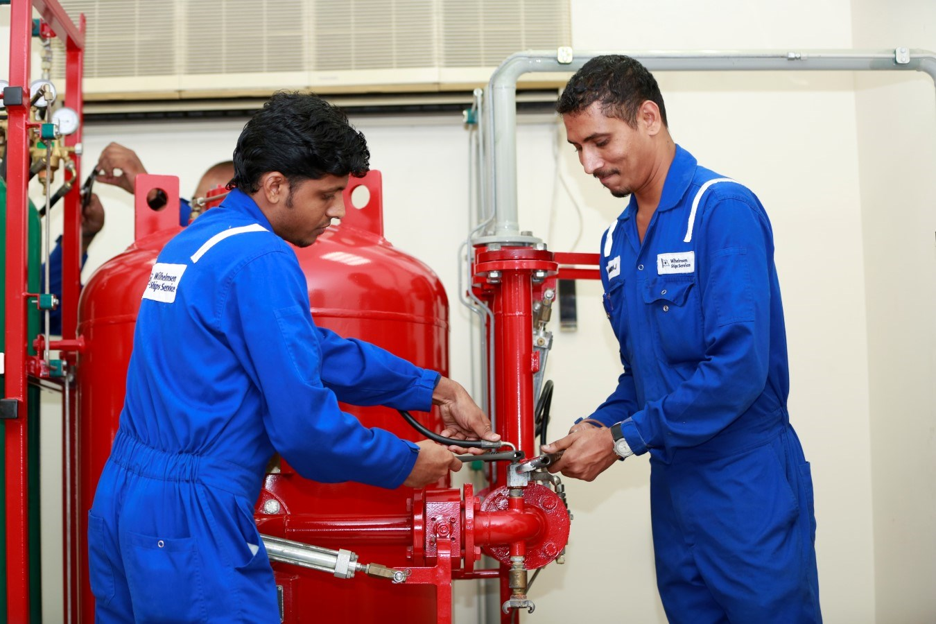 WSS trains its technicians