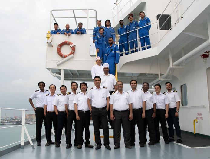 Diversity of crew requires mutual understanding of each other's culture