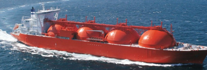 LNG vessel pagebreak
