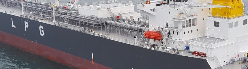 LPG ship management page break image
