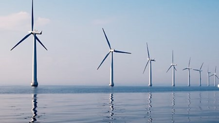 Offshore wind mill