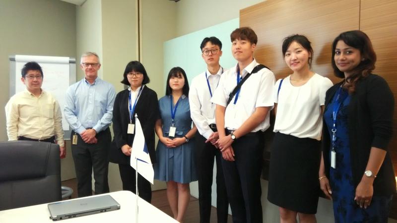 Korean Student-Interns at WSM Malaysia
