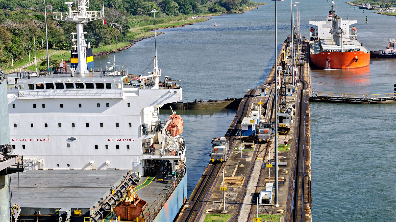 Canal De Panamá: Panama Canal Transit